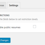 Restrict Content Pro - global settings